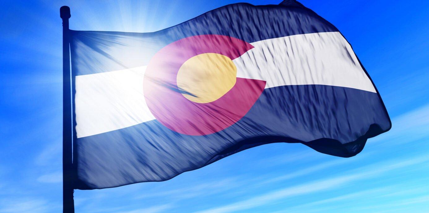 State of Colorado flag