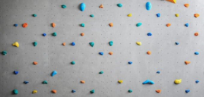 Blank Climbing Wall