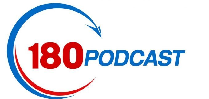 180podcast logo