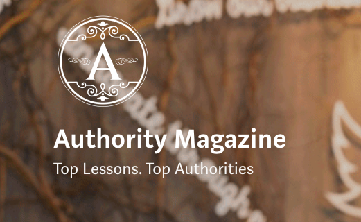 Authority Magazine website